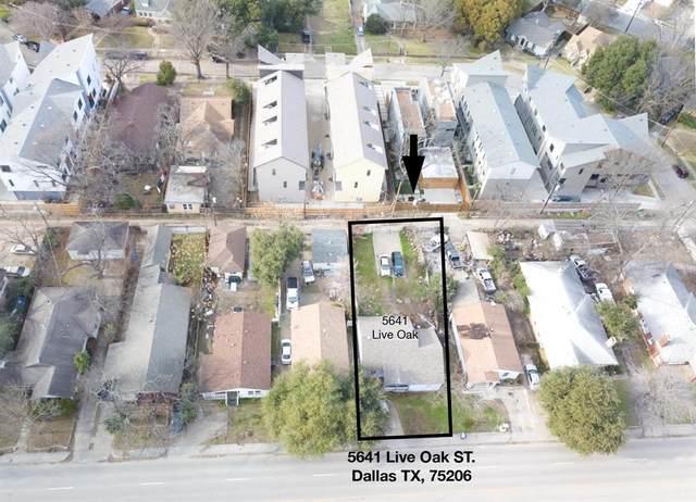 5641 Live Oak Street, Dallas, TX 75206 (MLS #14605412) :: Feller Realty