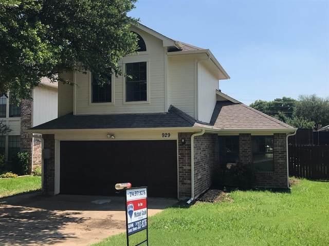 929 Sylvan Creek Drive, Lewisville, TX 75067 (MLS #14605598) :: RE/MAX Pinnacle Group REALTORS