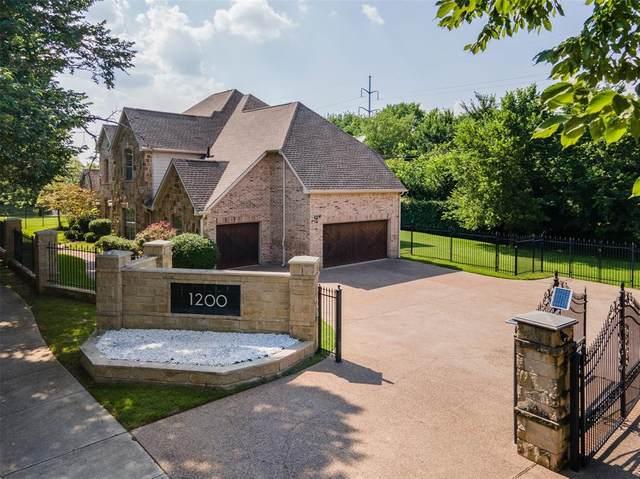 1200 E Dove Road, Southlake, TX 76092 (MLS #14605761) :: The Hornburg Real Estate Group