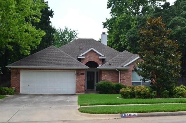 1805 Sandalwood Lane, Grapevine, TX 76051 (MLS #14606024) :: The Hornburg Real Estate Group