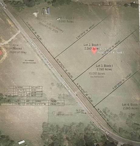 2877 Erwin Road Lot #2, Poolville, TX 76487 (MLS #14606038) :: Trinity Premier Properties