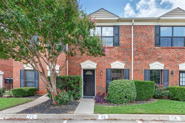 238 Samuel Boulevard T2, Coppell, TX 75019 (MLS #14606441) :: Crawford and Company, Realtors