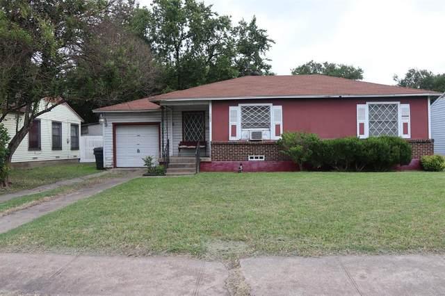 7619 Lake June Road, Dallas, TX 75217 (MLS #14606442) :: Real Estate By Design