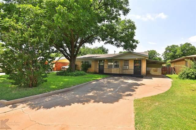 2034 N Mockingbird Lane, Abilene, TX 79603 (MLS #14606676) :: The Property Guys