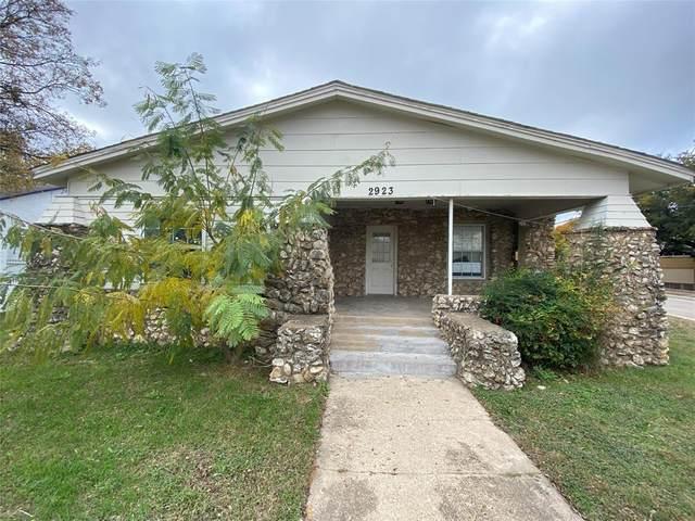 2923 Azle Avenue, Fort Worth, TX 76106 (MLS #14607484) :: The Good Home Team