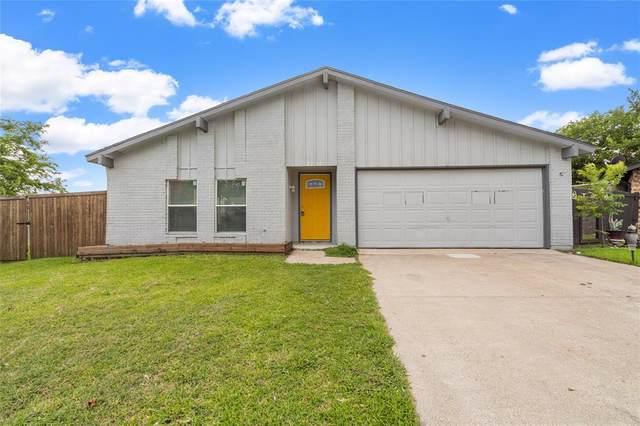2210 Colonial Place, Carrollton, TX 75007 (MLS #14607619) :: The Good Home Team