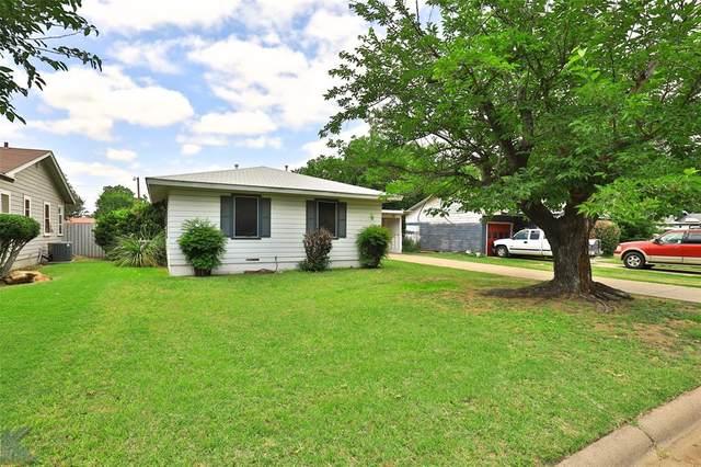 1442 S 19th Street, Abilene, TX 79602 (MLS #14607694) :: The Good Home Team