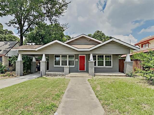 1617 N Sylvania Avenue, Fort Worth, TX 76111 (MLS #14607862) :: The Rhodes Team