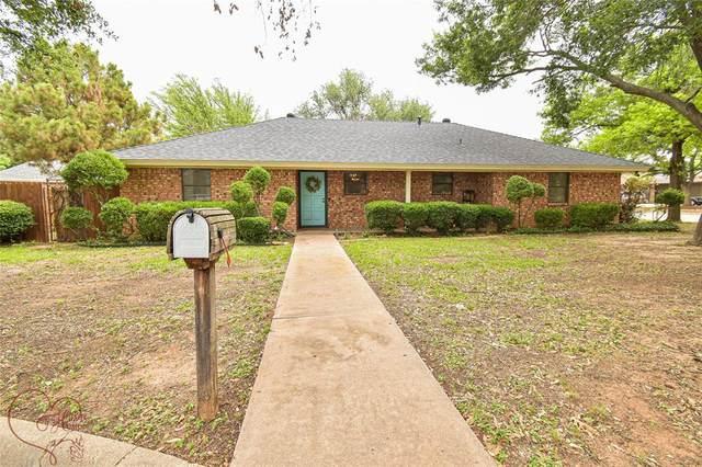 1732 Bent Tree Drive, Abilene, TX 79602 (MLS #14608305) :: Feller Realty