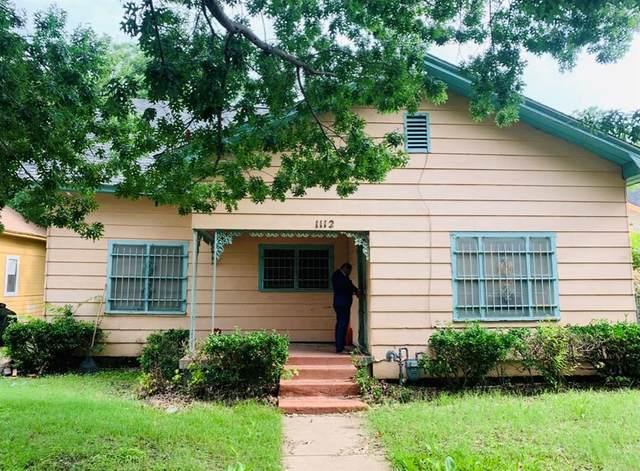 1112 E Leuda Street, Fort Worth, TX 76104 (MLS #14608444) :: The Good Home Team