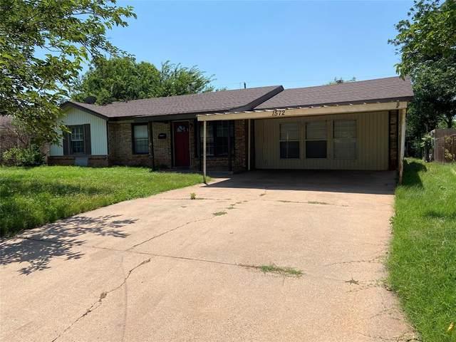 1572 Mimosa Drive, Abilene, TX 79603 (MLS #14608470) :: Rafter H Realty