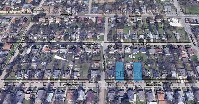 1107 Strickland Street, Dallas, TX 75216 (MLS #14608796) :: The Hornburg Real Estate Group