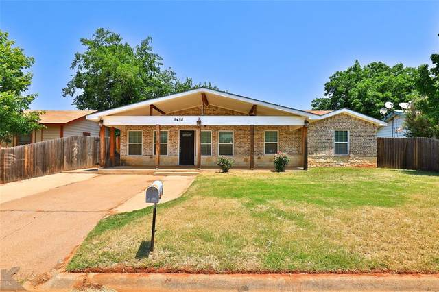 5458 Taos Drive, Abilene, TX 79605 (MLS #14608936) :: Feller Realty