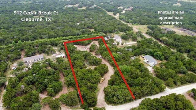 912 Cedar Break Court, Cleburne, TX 76033 (MLS #14609698) :: The Chad Smith Team