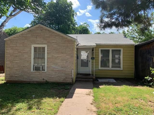 1366 Sammons Street, Abilene, TX 79605 (MLS #14609722) :: Feller Realty