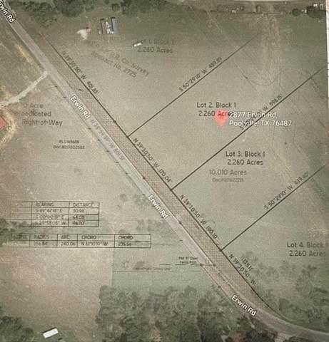 2877 Erwin Road Lot #4, Poolville, TX 76487 (MLS #14612049) :: Frankie Arthur Real Estate