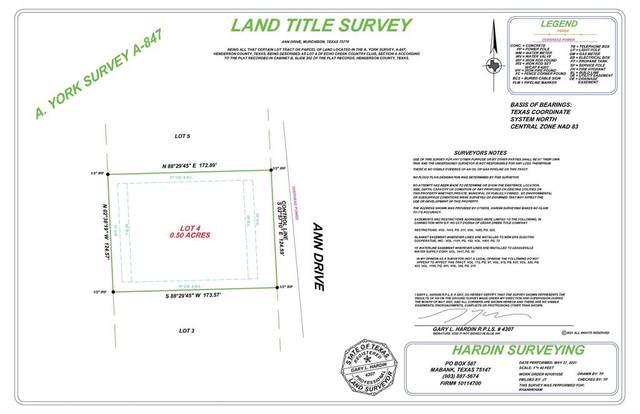 Lots4-5 Ann Drive, Murchison, TX 75778 (MLS #14612207) :: Real Estate By Design