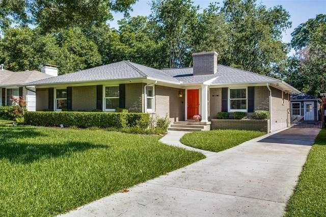 6206 Monticello Avenue, Dallas, TX 75214 (MLS #14612440) :: The Mitchell Group
