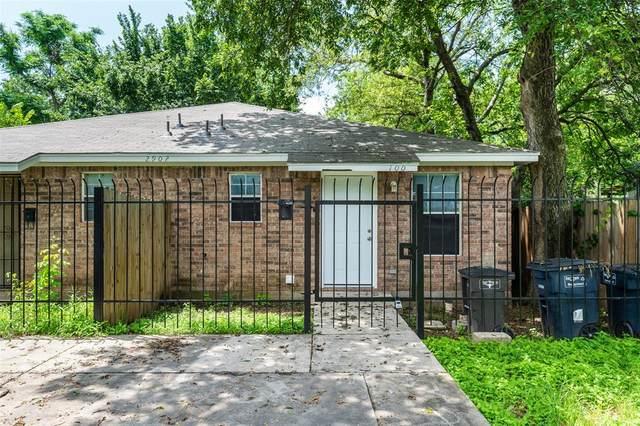 2902 Van Horn Avenue, Fort Worth, TX 76111 (MLS #14613253) :: Real Estate By Design