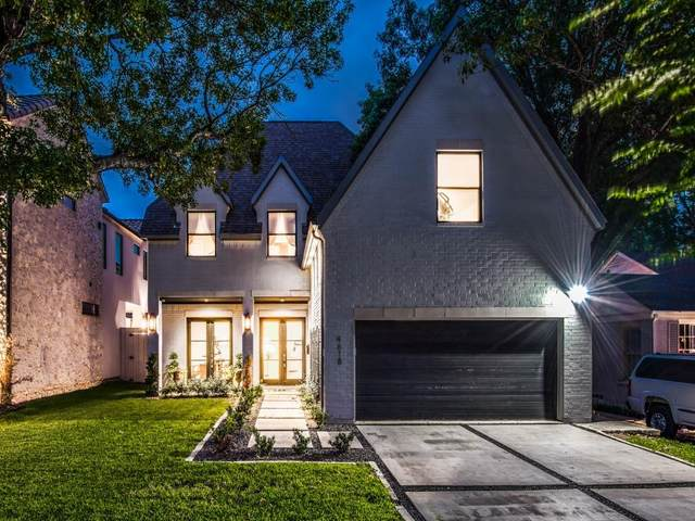 4618 W Amherst Avenue, Dallas, TX 75209 (MLS #14614075) :: Wood Real Estate Group