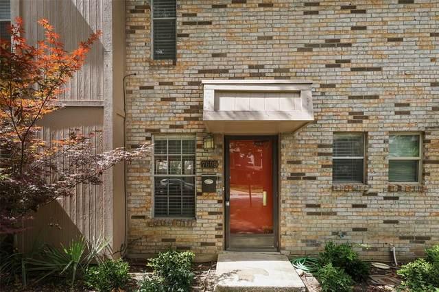 7609 Pebblestone Drive #8, Dallas, TX 75230 (MLS #14614090) :: The Mauelshagen Group