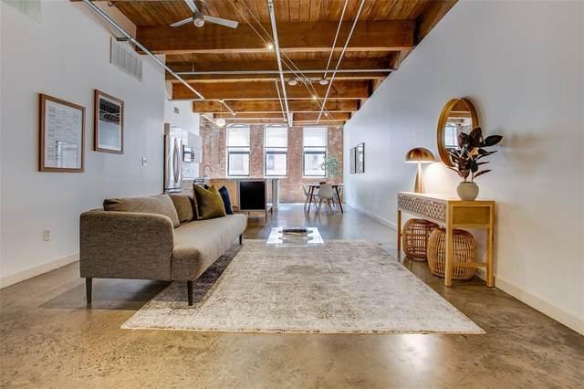 509 Elm Street #502, Dallas, TX 75202 (MLS #14614703) :: Robbins Real Estate Group