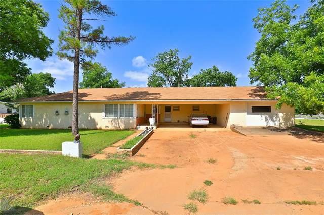 1911 Hoyt Street, Sweetwater, TX 79556 (MLS #14615074) :: Texas Lifestyles Group at Keller Williams Realty