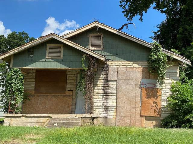 2839 Frost Avenue, Dallas, TX 75215 (MLS #14615199) :: 1st Choice Realty
