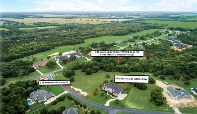 E-18 Waterstone Estates Drive, Mckinney, TX 75071 (MLS #14615534) :: The Mauelshagen Group