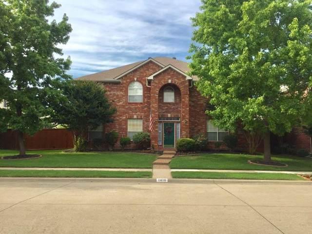 1410 Mckenzie Drive, Allen, TX 75013 (MLS #14616026) :: The Star Team   JP & Associates Realtors
