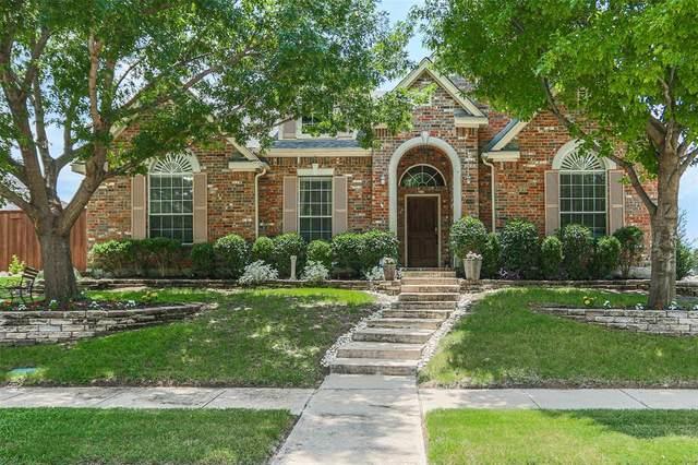 3809 Northpark Drive, The Colony, TX 75056 (MLS #14616087) :: The Mauelshagen Group