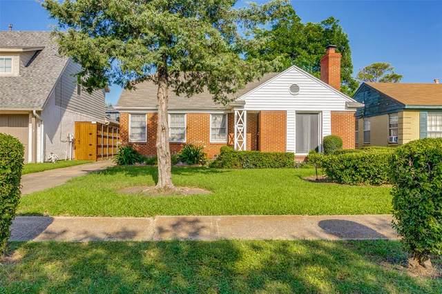 7403 Robin Road, Dallas, TX 75209 (MLS #14616162) :: Real Estate By Design
