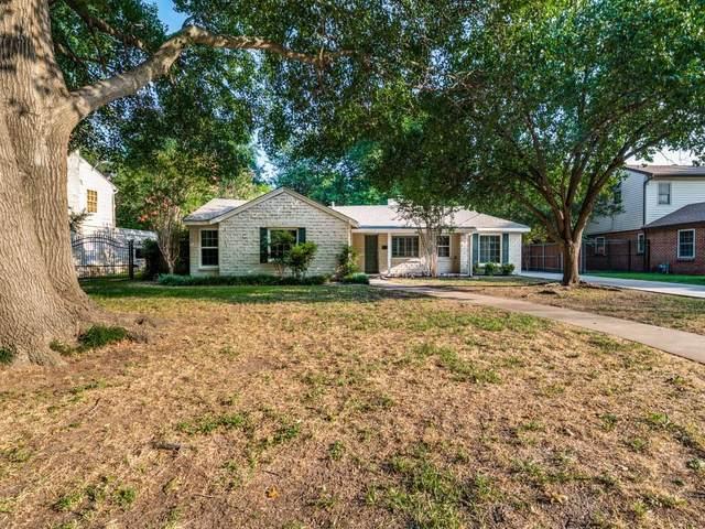 3727 W Biddison Street, Fort Worth, TX 76109 (MLS #14616258) :: Wood Real Estate Group