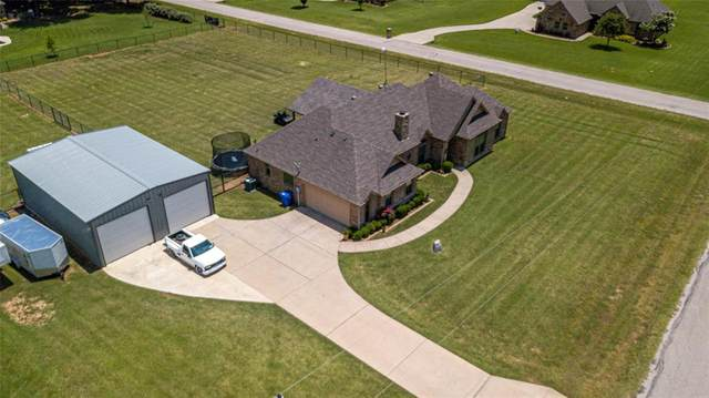 100 Brynns Court, Weatherford, TX 76087 (MLS #14616380) :: Wood Real Estate Group