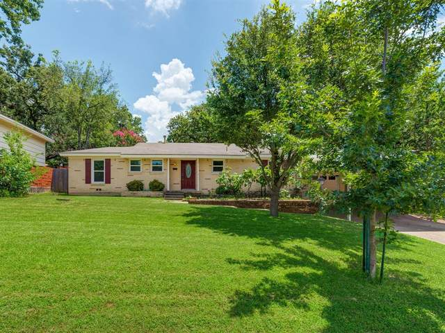 120 Oak Drive E, Hurst, TX 76053 (MLS #14616780) :: Real Estate By Design