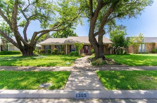 1309 Melrose Drive, Richardson, TX 75080 (MLS #14616788) :: The Mitchell Group