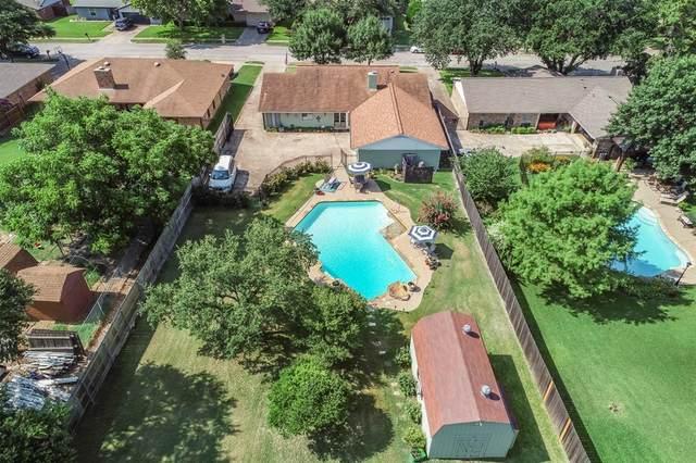 9932 Dickens Drive, Benbrook, TX 76126 (MLS #14616870) :: The Mauelshagen Group
