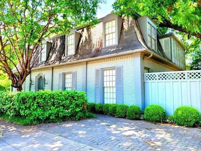 5501 Hillcrest Avenue, Highland Park, TX 75205 (MLS #14617209) :: The Hornburg Real Estate Group