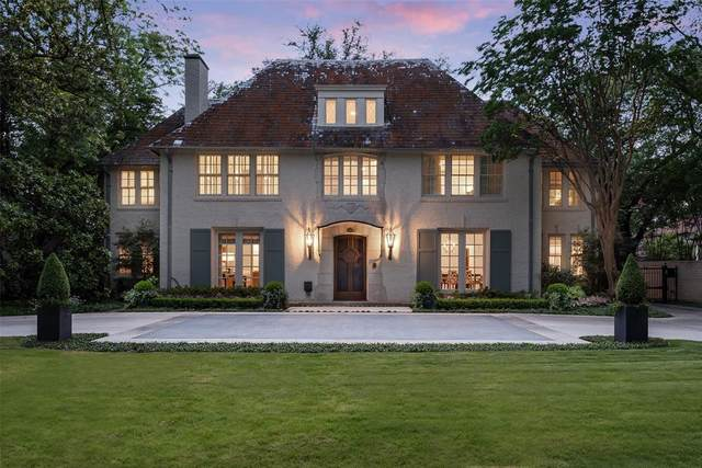 4229 Arcady Avenue, Highland Park, TX 75205 (MLS #14617452) :: The Hornburg Real Estate Group