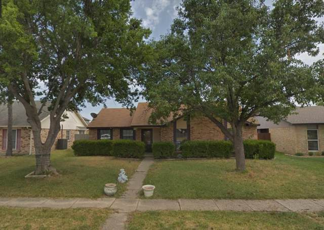5645 Trego Street, The Colony, TX 75056 (MLS #14617600) :: Real Estate By Design