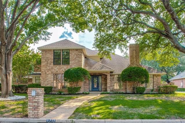 6713 Ashbrook Drive, Fort Worth, TX 76132 (MLS #14618407) :: Keller Williams Realty