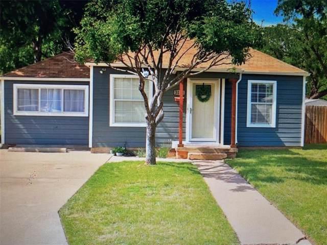 3126 S 6th Street, Abilene, TX 79605 (MLS #14618480) :: Real Estate By Design