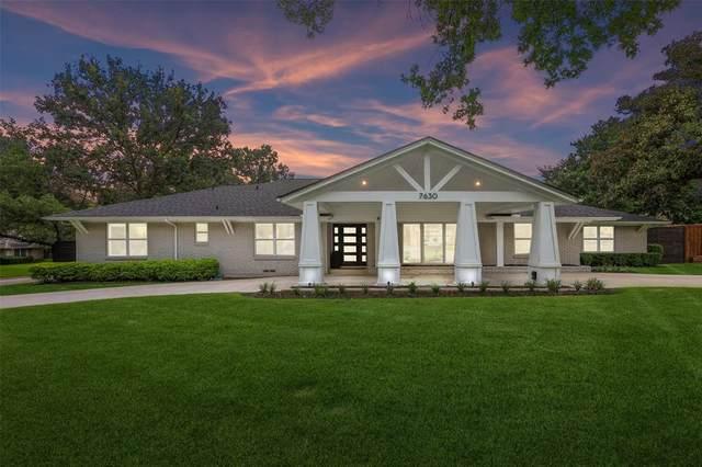 7630 Oakbluff Drive, Dallas, TX 75254 (MLS #14618810) :: Rafter H Realty