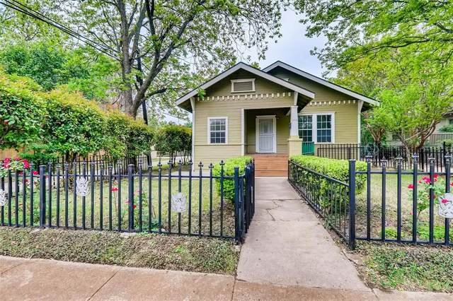 1116 W Canty Street, Dallas, TX 75208 (MLS #14618872) :: Real Estate By Design