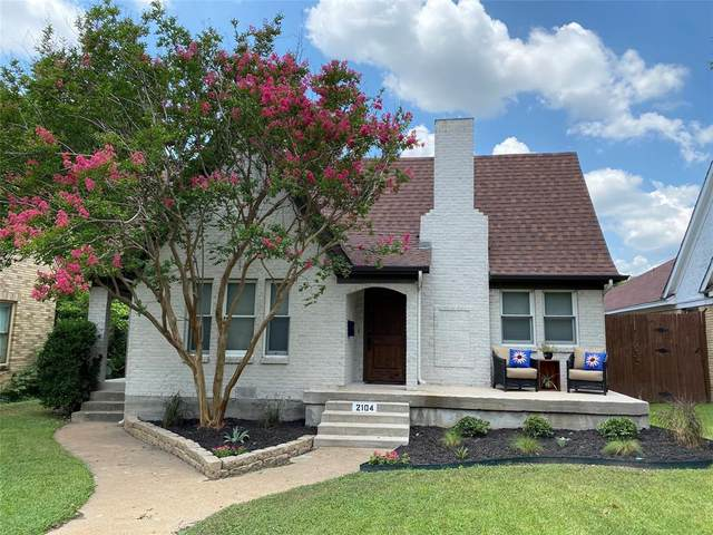 2104 Tremont Avenue, Fort Worth, TX 76107 (MLS #14619213) :: The Mauelshagen Group