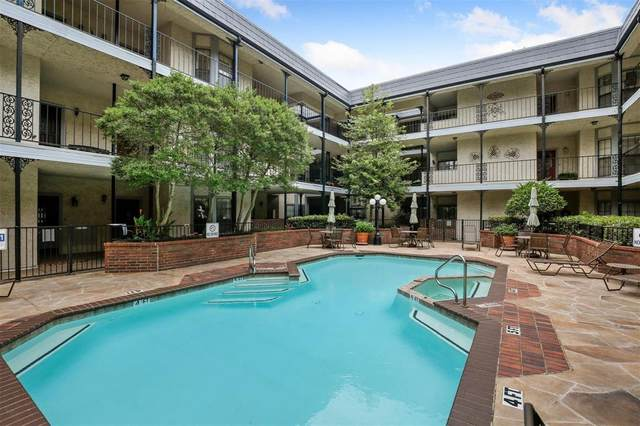 8610 Turtle Creek Boulevard #309, Dallas, TX 75225 (#14619676) :: Homes By Lainie Real Estate Group