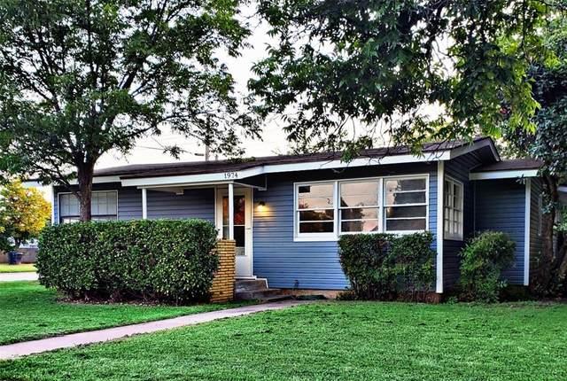 1974 Ballinger Street, Abilene, TX 79605 (MLS #14620429) :: Robbins Real Estate Group
