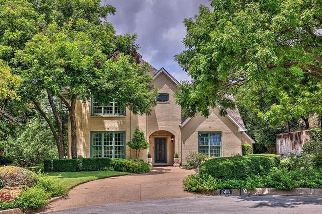 2416 Kensington Drive, Fort Worth, TX 76110 (MLS #14621738) :: Real Estate By Design