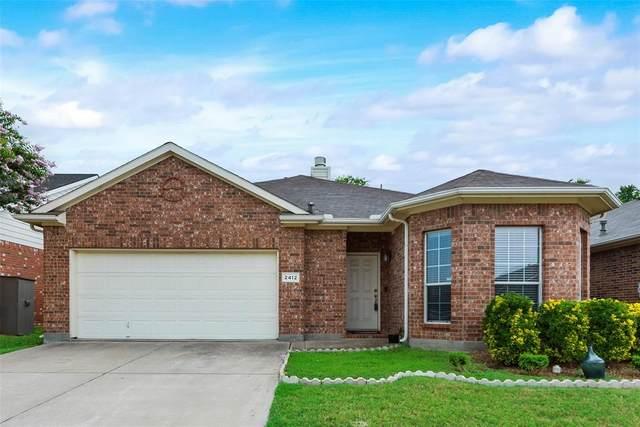 2412 Priscella Drive, Fort Worth, TX 76131 (MLS #14621958) :: The Daniel Team