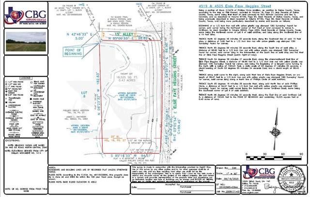 4519 Elsie Faye Heggins Street, Dallas, TX 75210 (MLS #14622084) :: Real Estate By Design